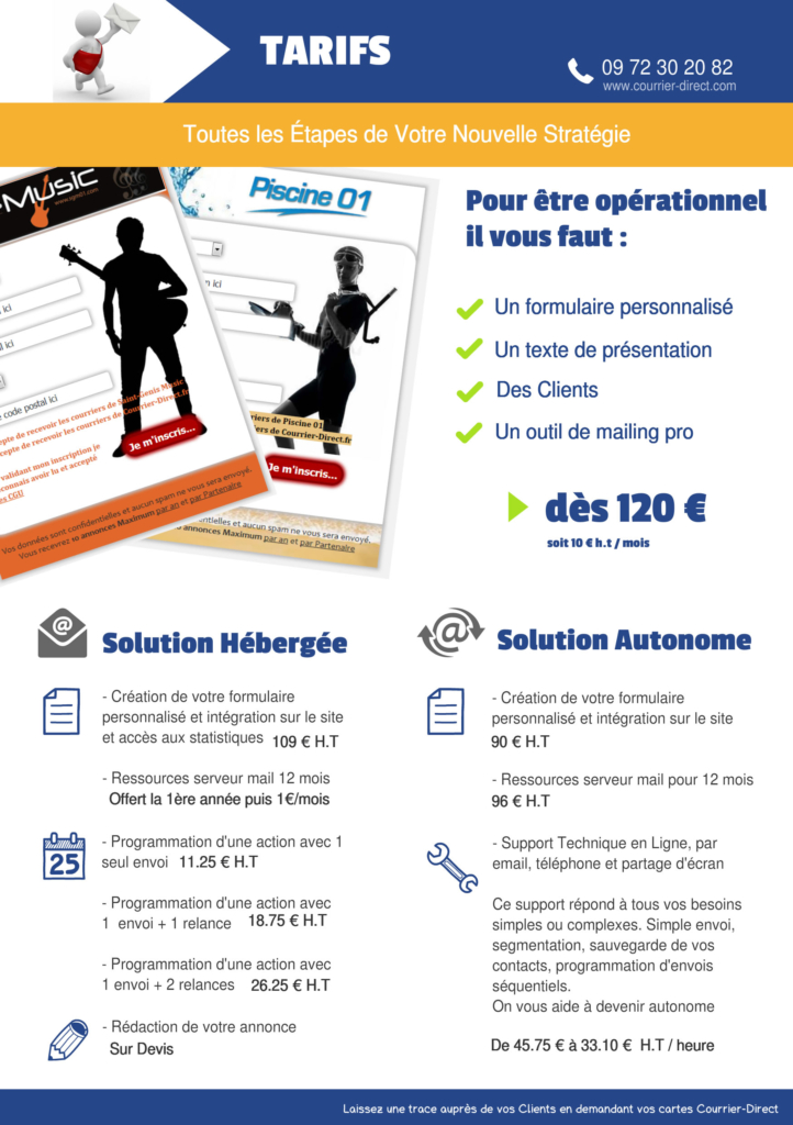 Courrier-Direct Flyer 2
