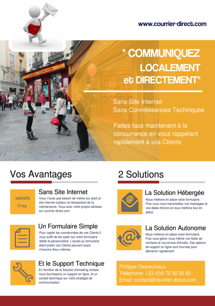 Courrier-Direct Flyer 1